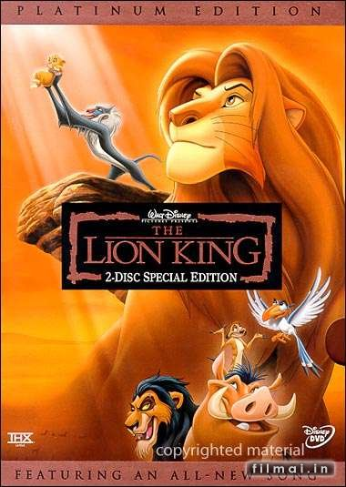 Padidinti: The Lion King