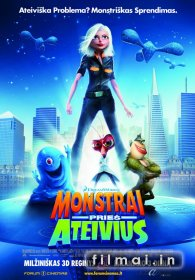 Monstrai prieš ateivius / Monsters vs. Aliens (2009)