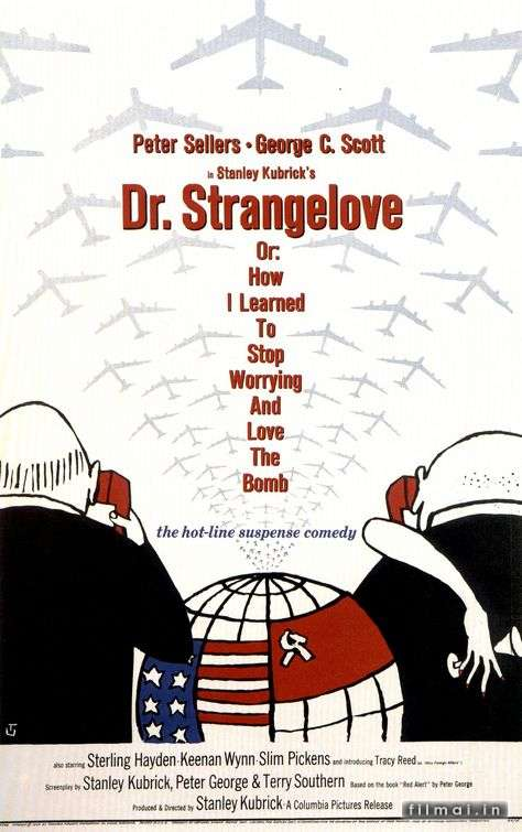 Padidinti: Dr. Strangelove or: How I Learned to Stop Worrying and Love the Bomb
