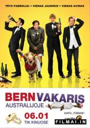 Bernvakaris Australijoje / A Few Best Men (2012)