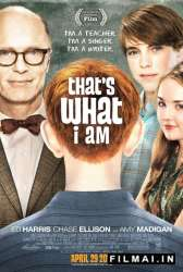 Thats What I Am poster