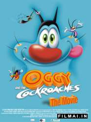 Oggy and the Cockroaches: The Movie poster