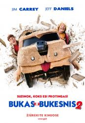 Bukas ir bukesnis 2 / Dumb and Dumber To (2014)
