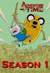 Adventure Time with Jake and Finn poster