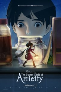 Arietė iš nykštukų šalies / The Secret World of Arrietty (2010)