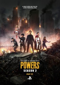 Galingieji / Powers (Season 1)