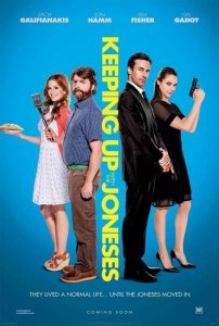 Sugyventi su Džounsais / Keeping Up with the Joneses (2016)