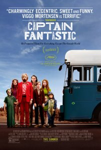 Šaunusis kapitonas / Captain Fantastic (2016)