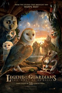 Pelėdų karalystės sargai / Legend of the Guardians: The Owls of GaHoole (2010)
