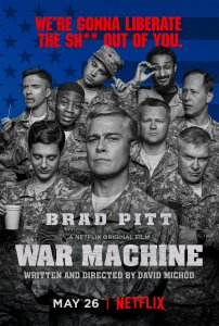 Karo mašina / War Machine (2017)