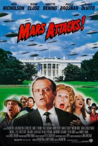 Marsas atakuoja / Mars Attacks! (1996)