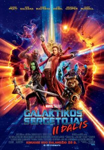 Galaktikos sergėtojai 2 / Guardians of the Galaxy Vol. 2 (2017)