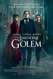 Golemų namas / The Limehouse Golem (2016)
