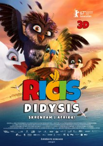 Ričis Didysis / Richard the Stork (2017)
