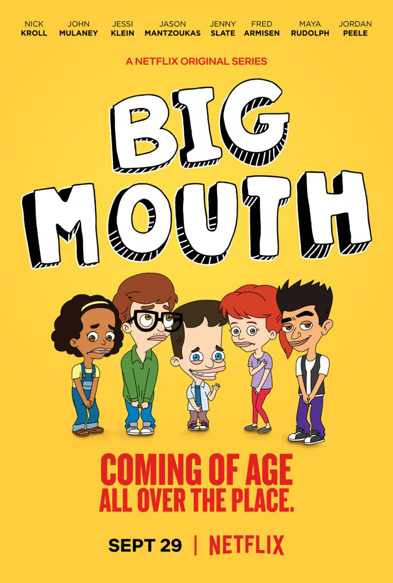 Plepys (1 Sezonas) / Big Mouth Season 1