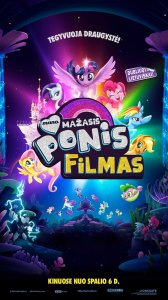 Mano mažasis ponis. Filmas / My Little Pony: The Movie (2017)
