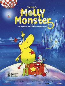 Monstriukė Molė / Molly Monster the Movie (2016)