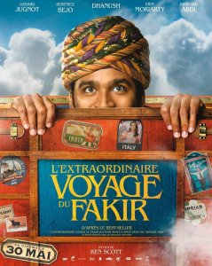 Neįtikėtina fakyro kelionė / The Extraordinary Journey of the Fakir (2018)