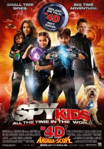 Šnipų vaikučiai 4: Viso pasaulio laikas / Spy Kids All the Time in the World (2011)
