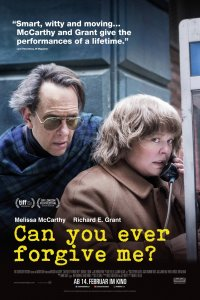 Ar galėsi kada nors man atleisti? / Can You Ever Forgive Me? (2018)