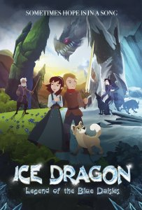 Ledo drakonas: Mėlynųjų saulučių legenda / Ice Dragon: Legend of the Blue Daisies (2018)