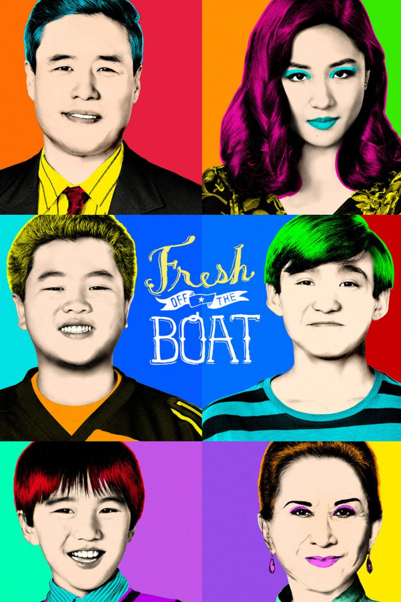 Naujakuriai (6 Sezonas) / Fresh Off The Boat Season 6