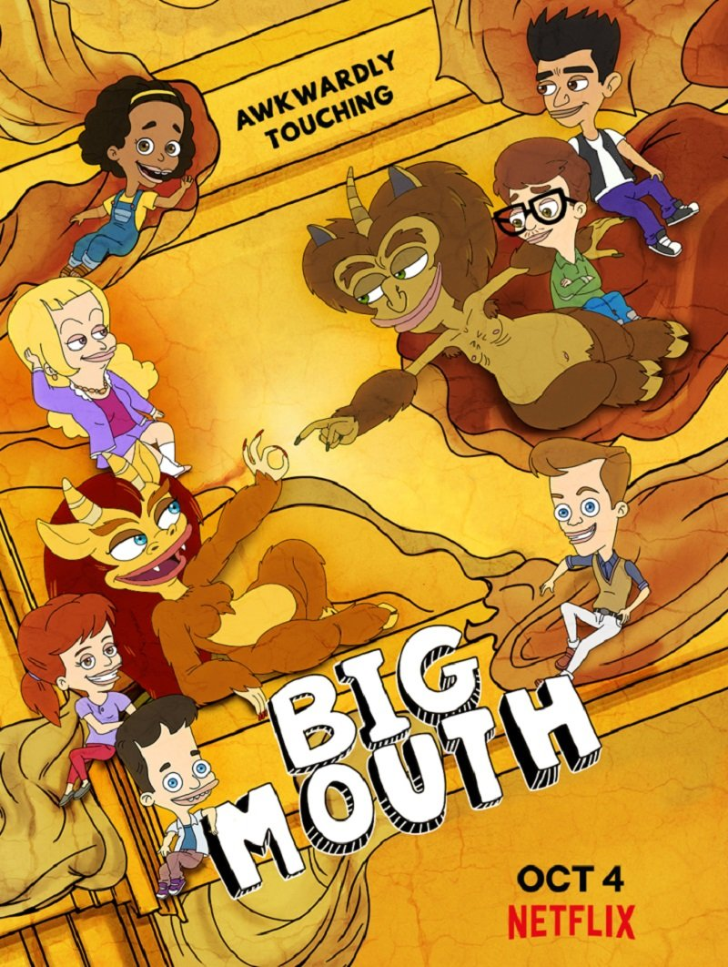 PLEPYS (3 sezonas) / Big Mouth Season 3