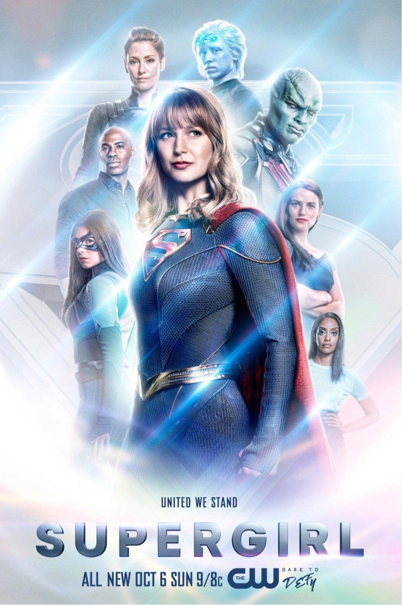 Super Mergina (5 Sezonas) / Supergirl Season 5