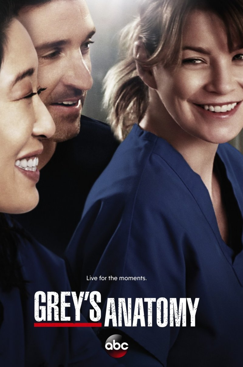 Grey anatomija (1, 2, 3, 4, 5, 6, 7, 8, 9, 10, 11, 12, 13, 14, 15, 16 sezonas)  / Greys Anatomy (2005-2019)