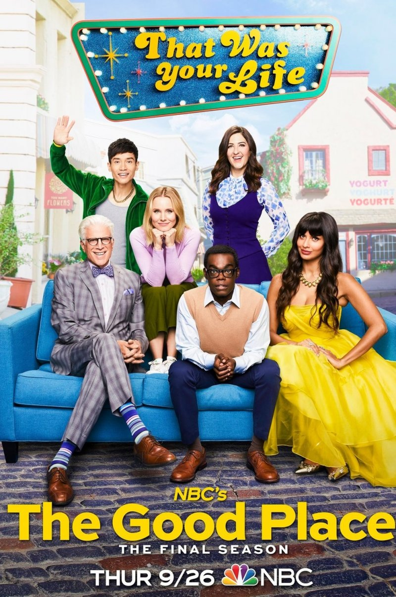 Puiki vieta (4 Sezonas) / The Good Place Season 4