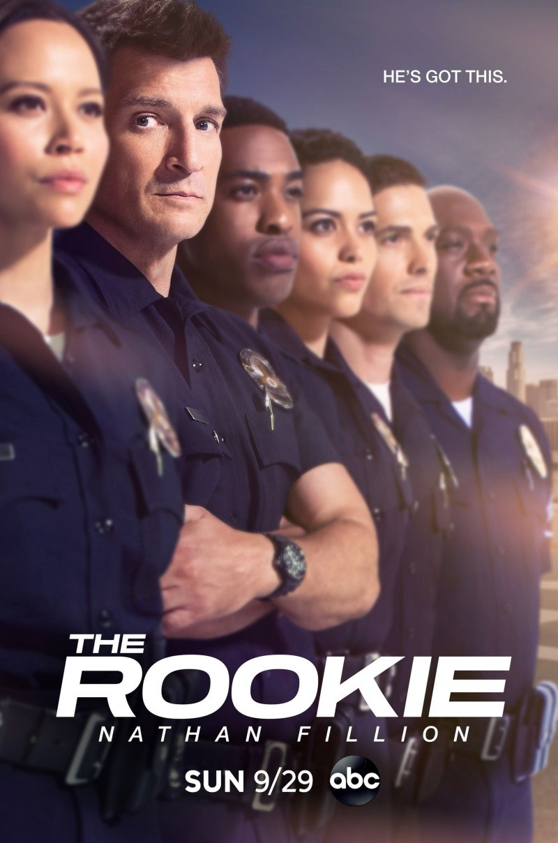 Naujokas (2 Sezonas) / The Rookie Season 2