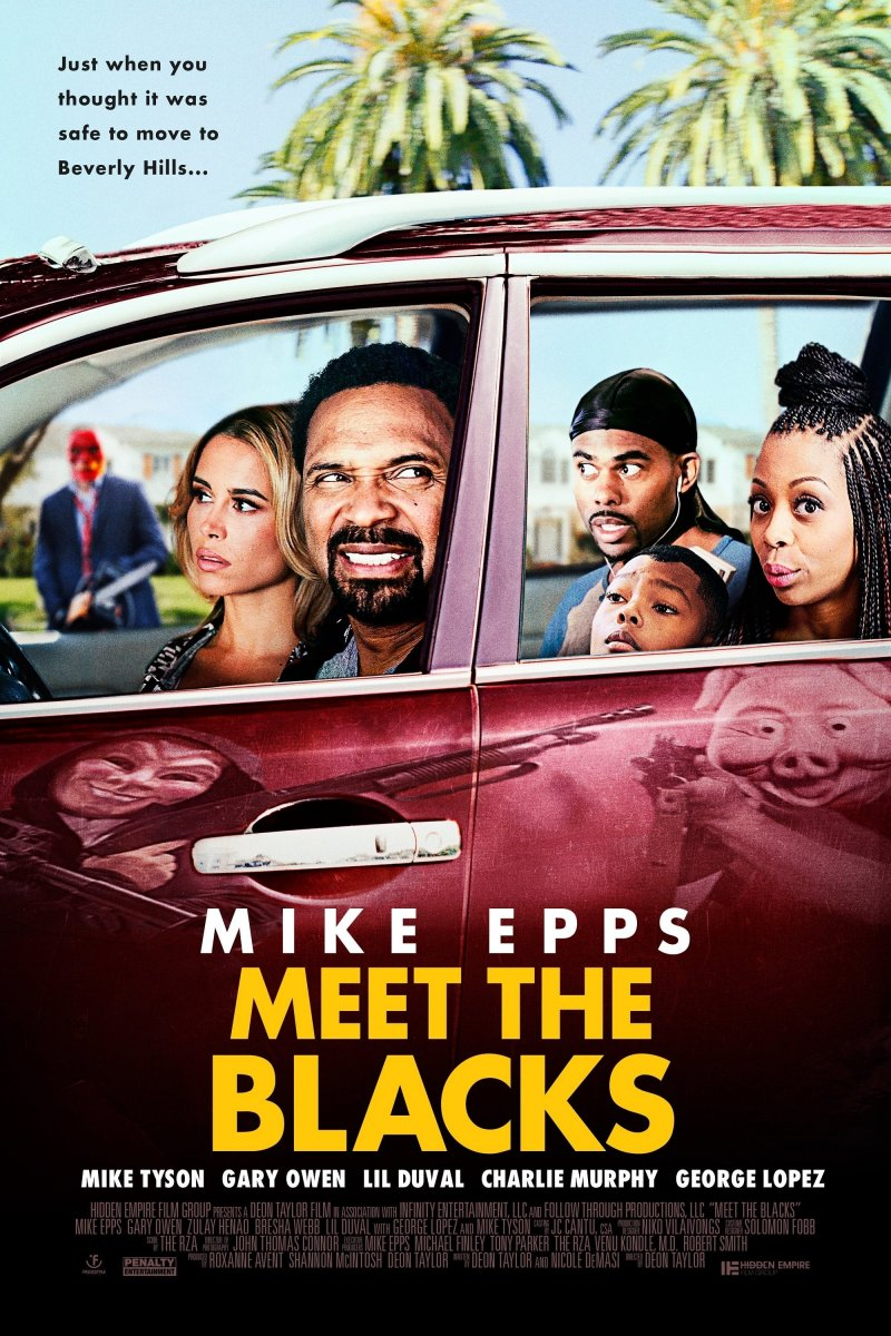 TAIP, MES JUODI (2016) / Meet the Blacks