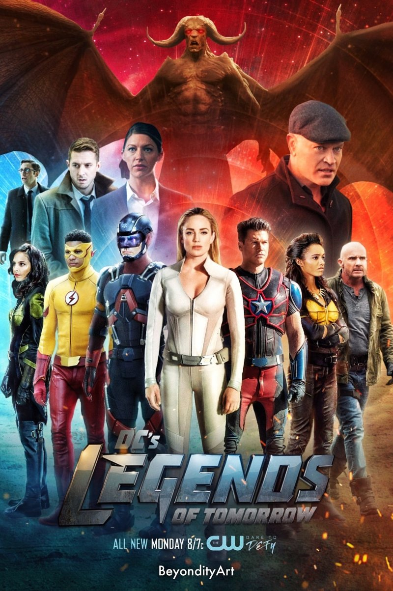 Rytdienos legendos (5 Sezonas) / DCs Legends of Tomorrow Season 5